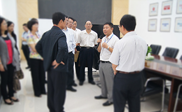 Chen Yunxian, the vice governor of Guangdong Province, came to Large Power for work instruction.