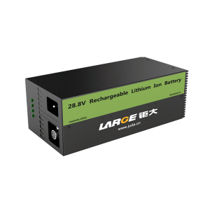 Low Temperature Charge/Discharge LiFePO4 Battery 28.8V 20Ah, Industrial Backup Power Supply with RS485 and RS232 Communication